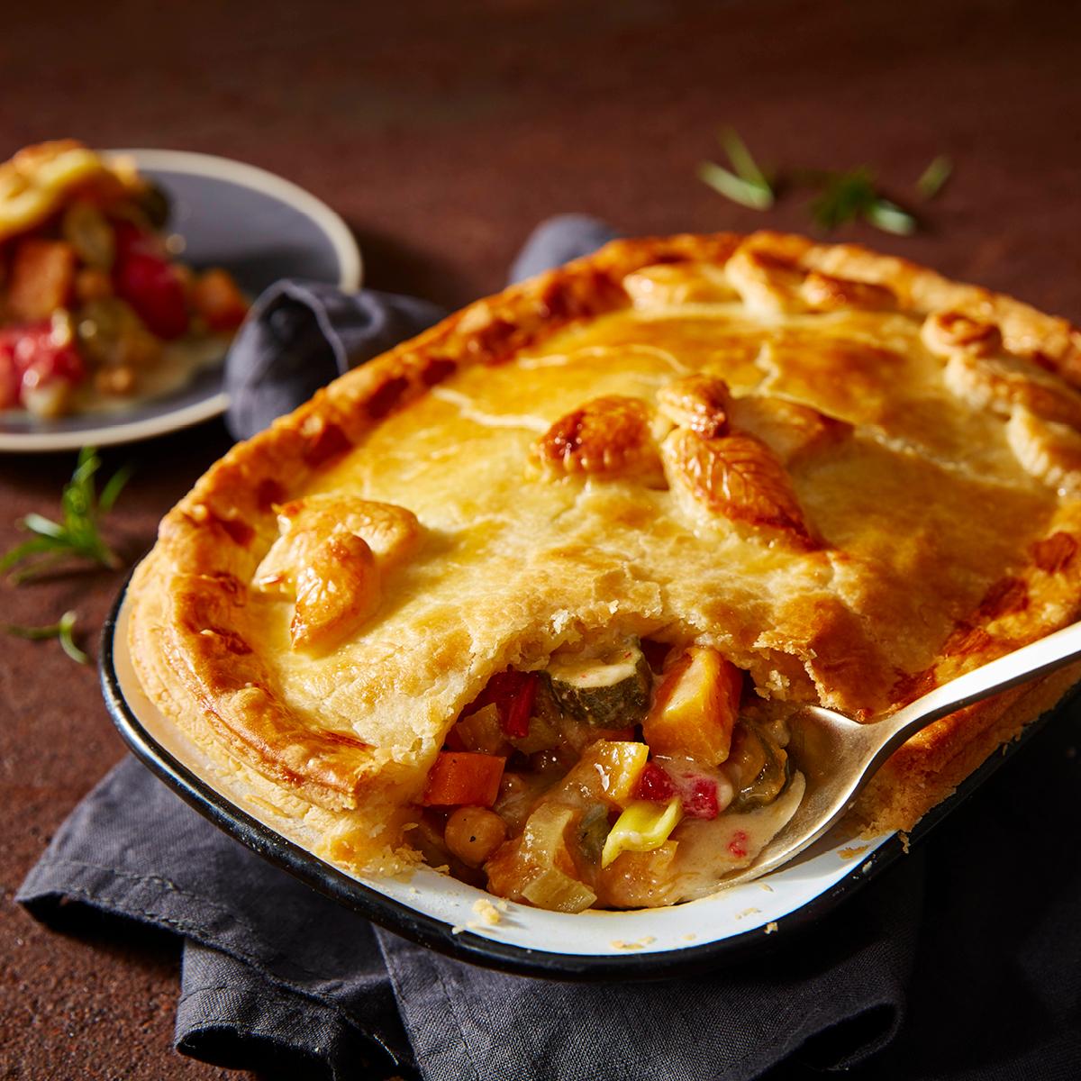 Veg & Stilton Pie