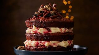 Beetroot and Blackberry Cake