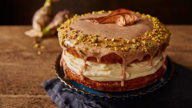Vegan Pear and Parsnip Cake