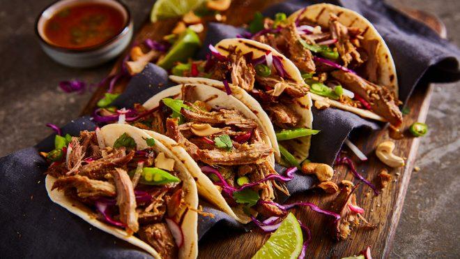 Crispy Duck Tacos