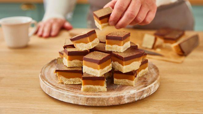 Carole's Caramel Shortbread