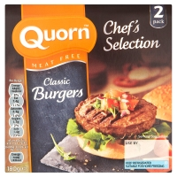 Quorn Chef Selection Classic Burger