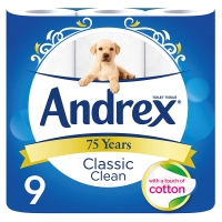 Andrex Classic Clean / Natural / Puppies