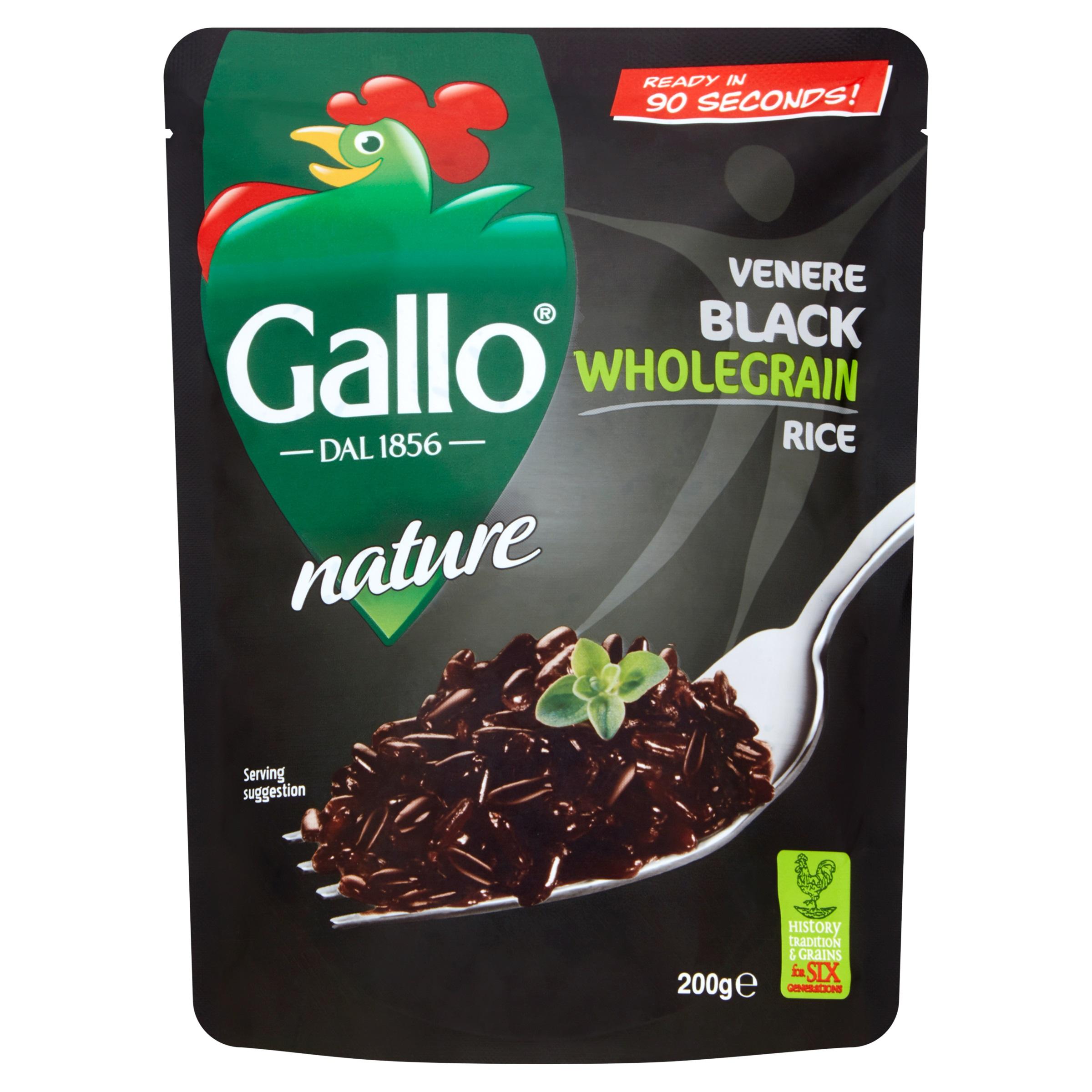 gallo venere black wholegrain rice