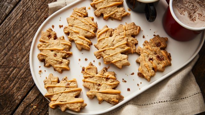 Oat and Toffee Biscuits