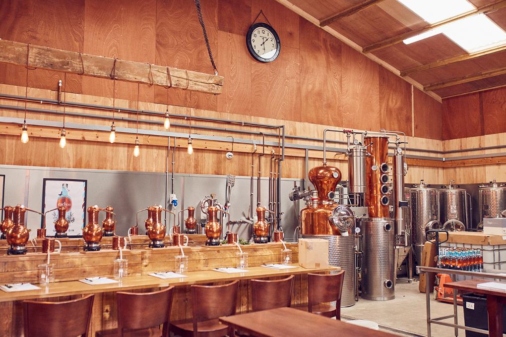 Cuckoo Gin at Brindle Distillery