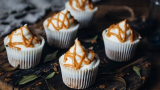 The Boho Baker's Cinnamon Cupcakes