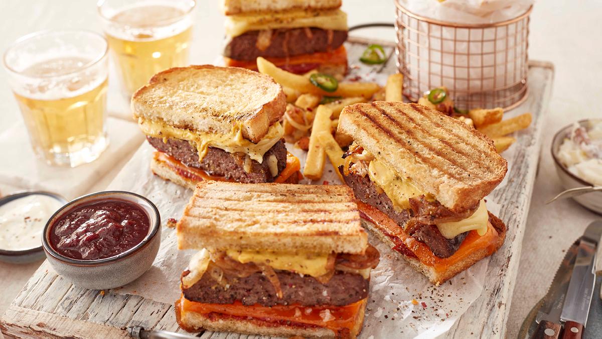 Burger Toastie Recipe