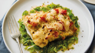 Smoked Haddock with Lancashire Cheese Rarebit