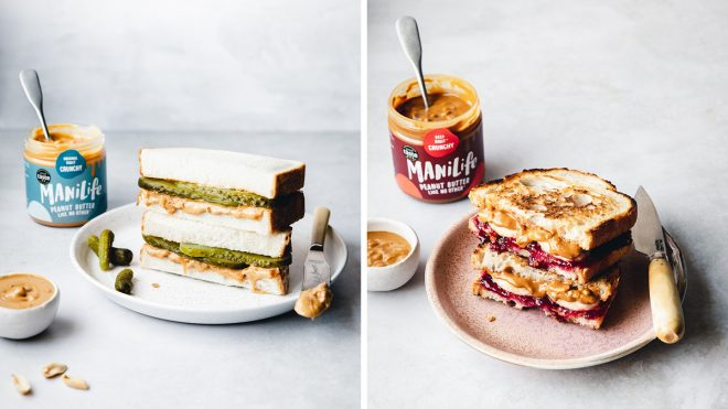 Manilife Peanut Butter Sandwiches