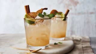 Maple & Pear Mule served in glasses