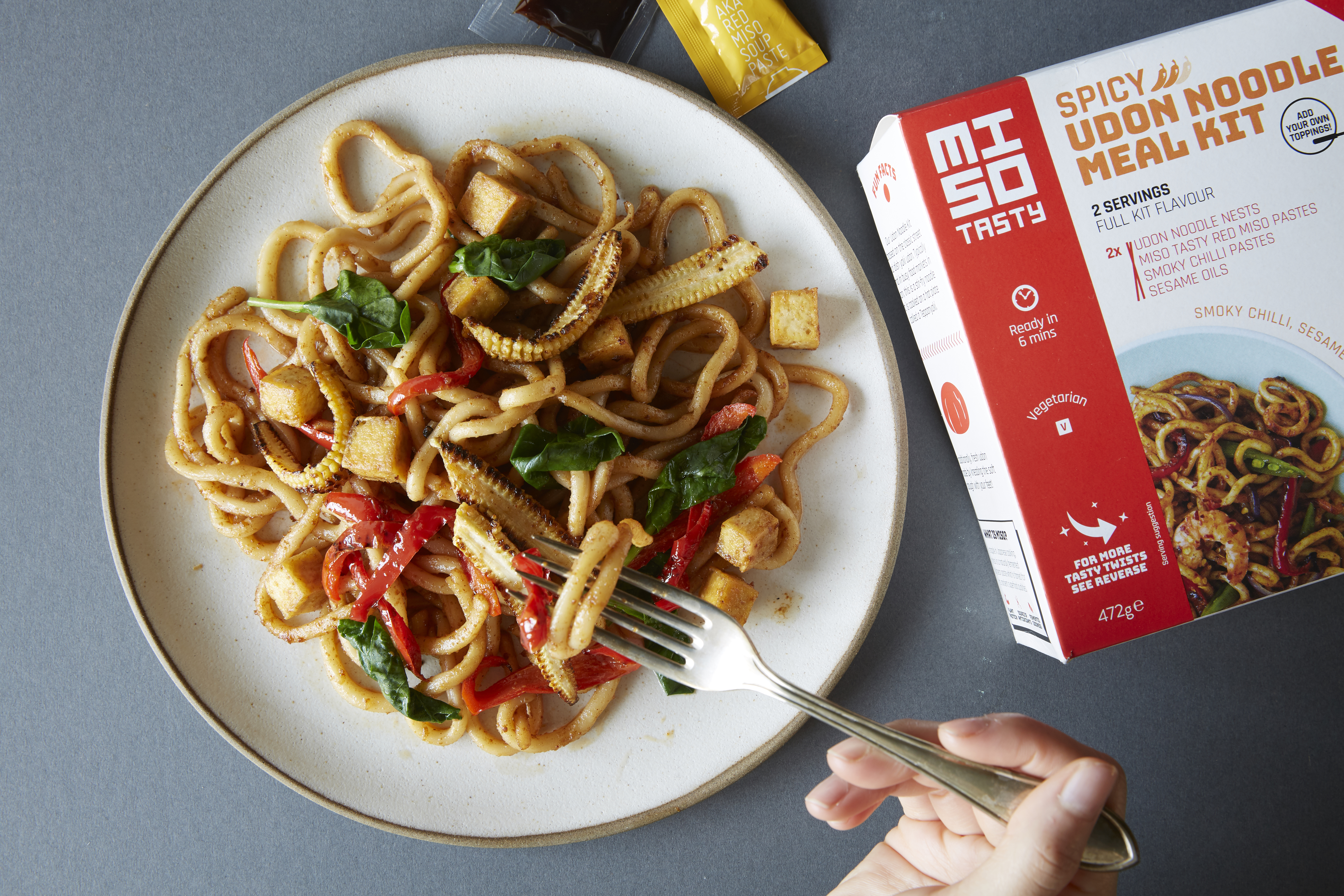 Miso Tasty Spicy Udon Noodle Kit