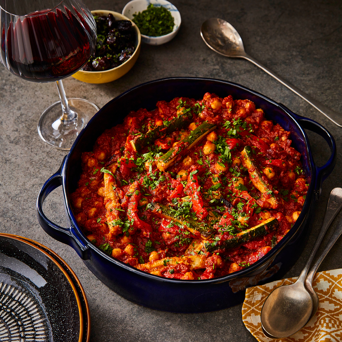 Moroccan ChickPEa Cassoulet