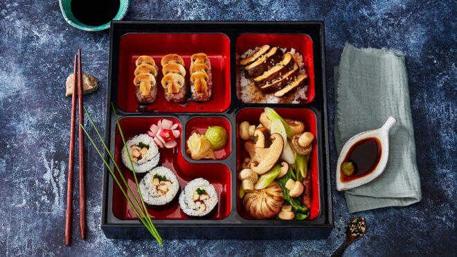 Mushroom Bento Box