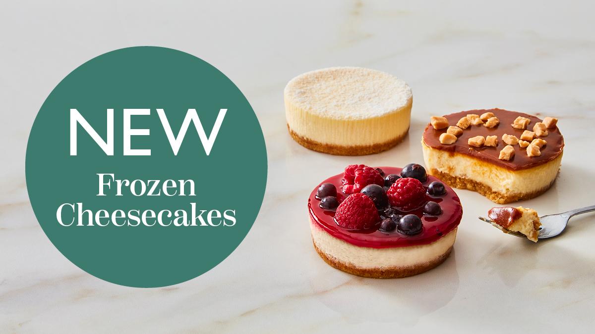 Frozen Cheesecakes