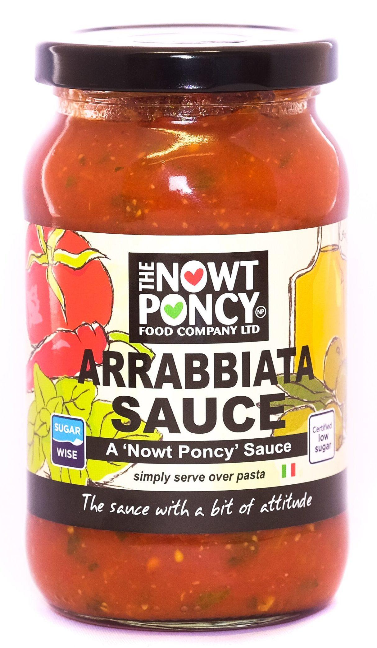 Nowt Poncy Arrabbiata Sauce