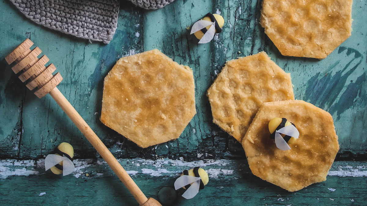 The Boho Baker's Honey Shortbread