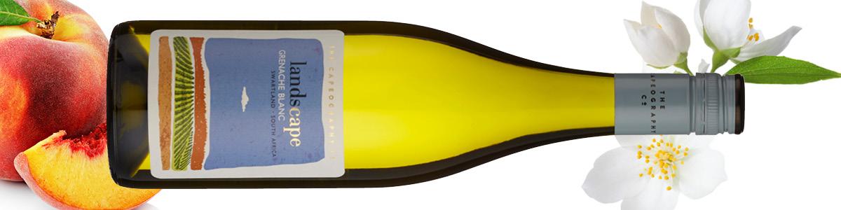 Capeography Landscape Grenache Blanc Wine