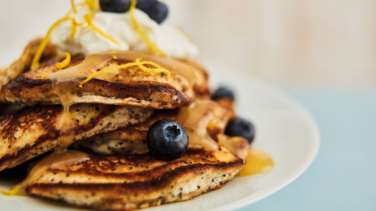 Amalfi Lemons Pancakes