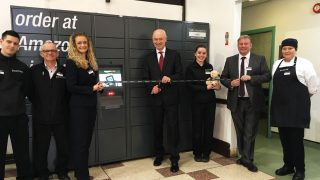 Clitheroe Amazon Locker