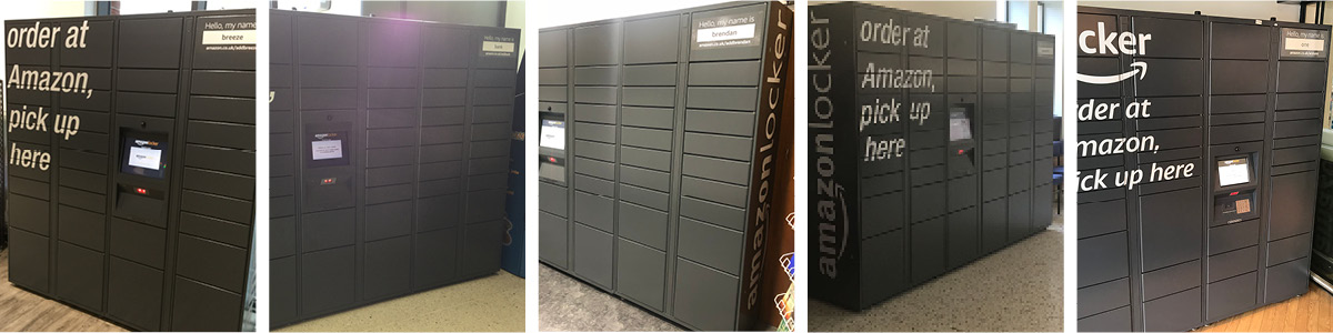 Amazon Lockers
