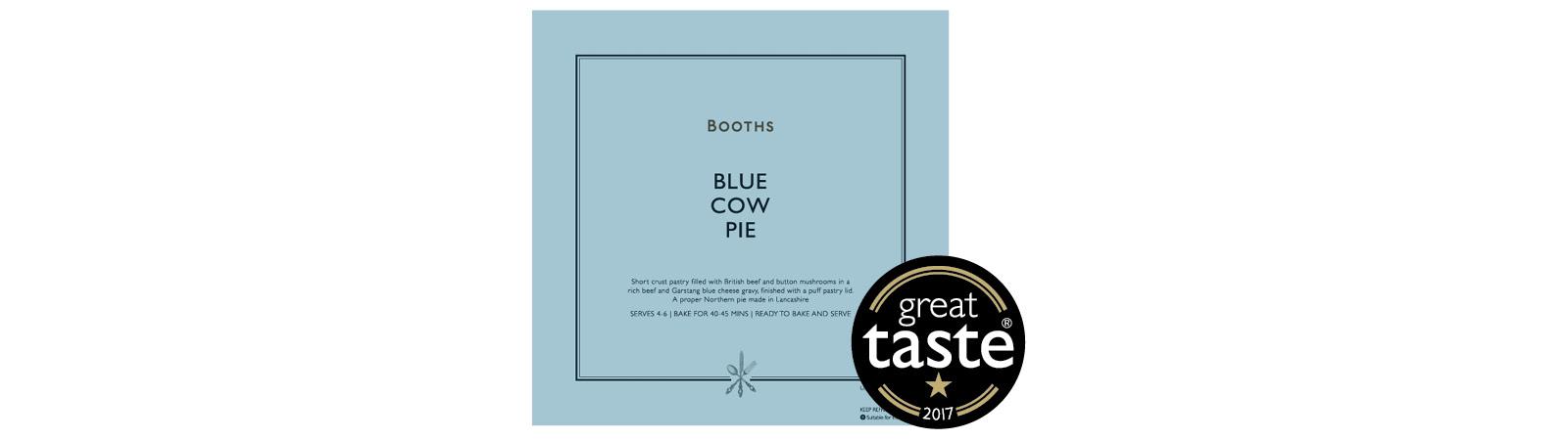 Blue Cow Pie