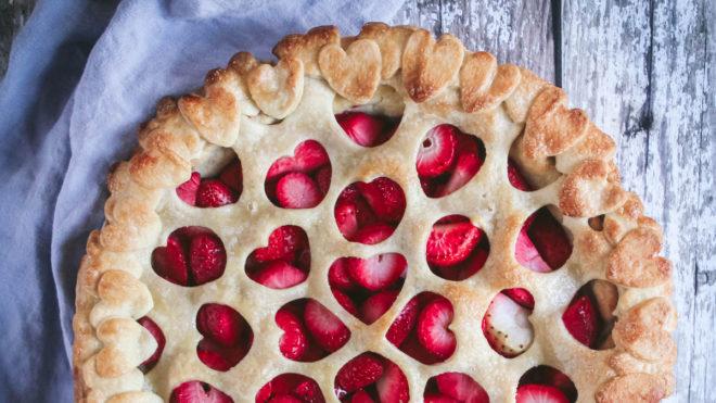 The Boho Baker's Strawberry Pie