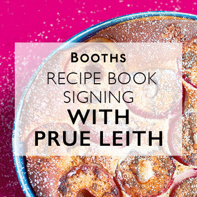 Prue Leith Book Signing