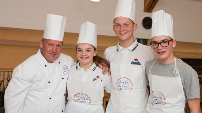 chefs adopt a school