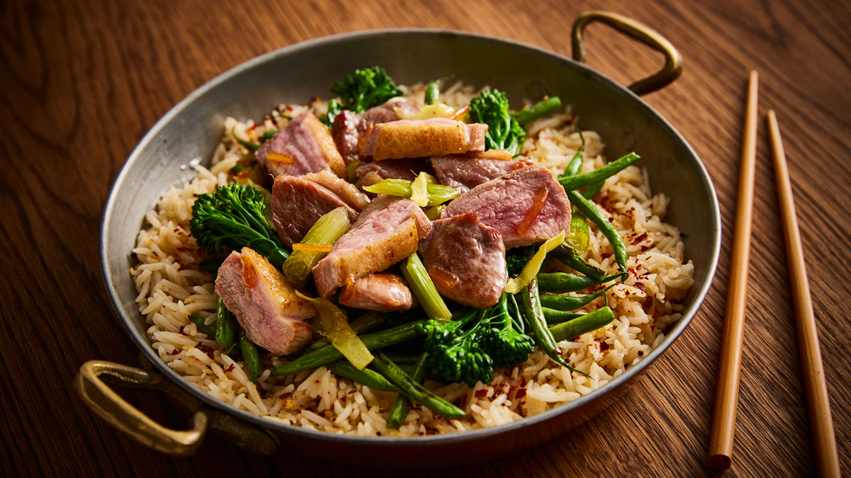 Quick Duck Stir Fry