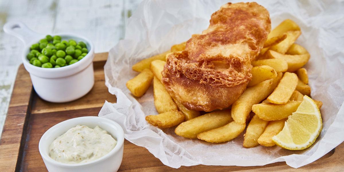 Gluten Free battered fish