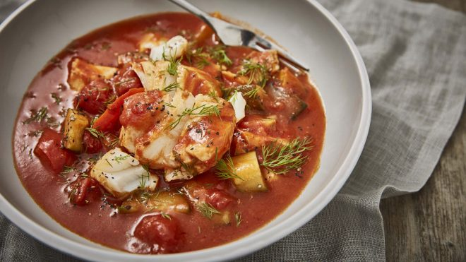 Fish Ratatouille