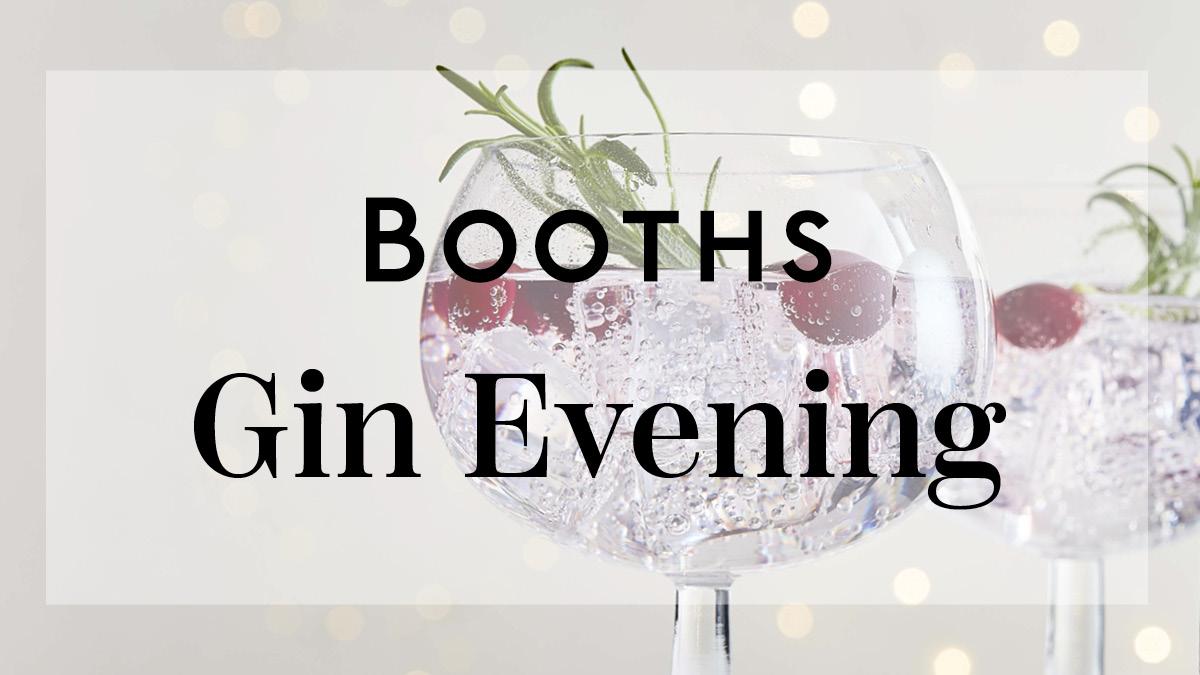 Gin Evening