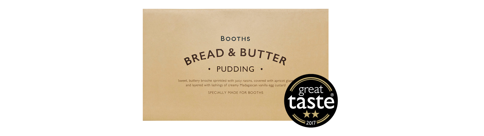 Booths Bread & Butter Pudding