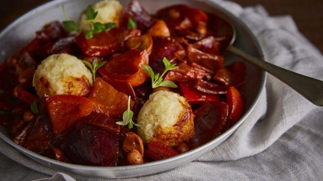 hungarian style vegan stew
