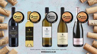 Booths Wines IWSC Winners Image