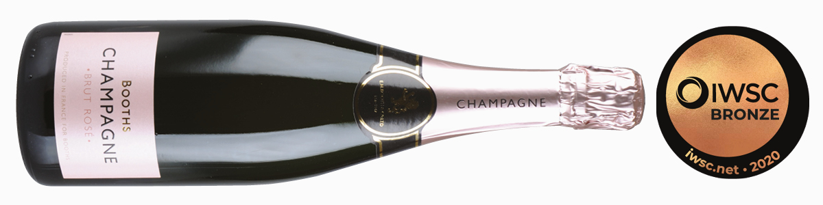 Booths Rose Champagne
