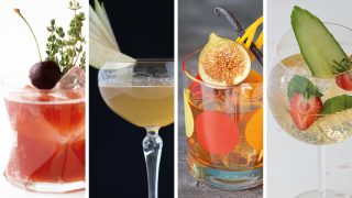 Collage of Jeffrey's Tonic Cocktails