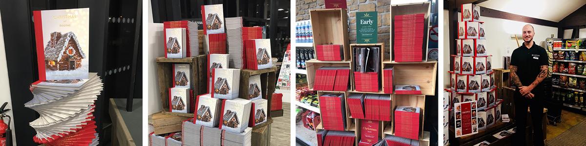 christmas book displays