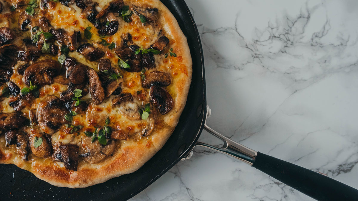 Northern Dough Co Mushroom Pizza