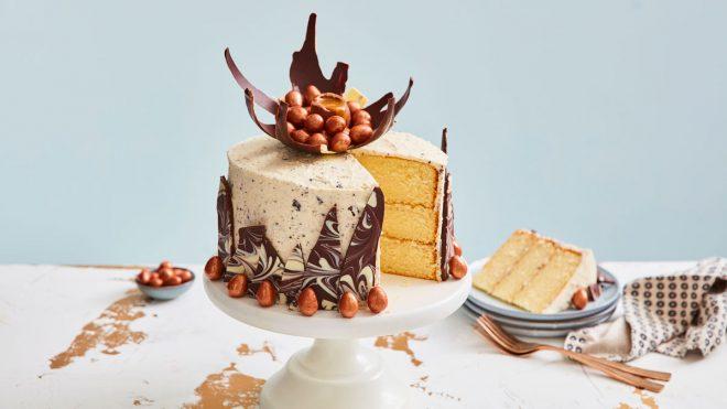 Speckled Chocolate Cake