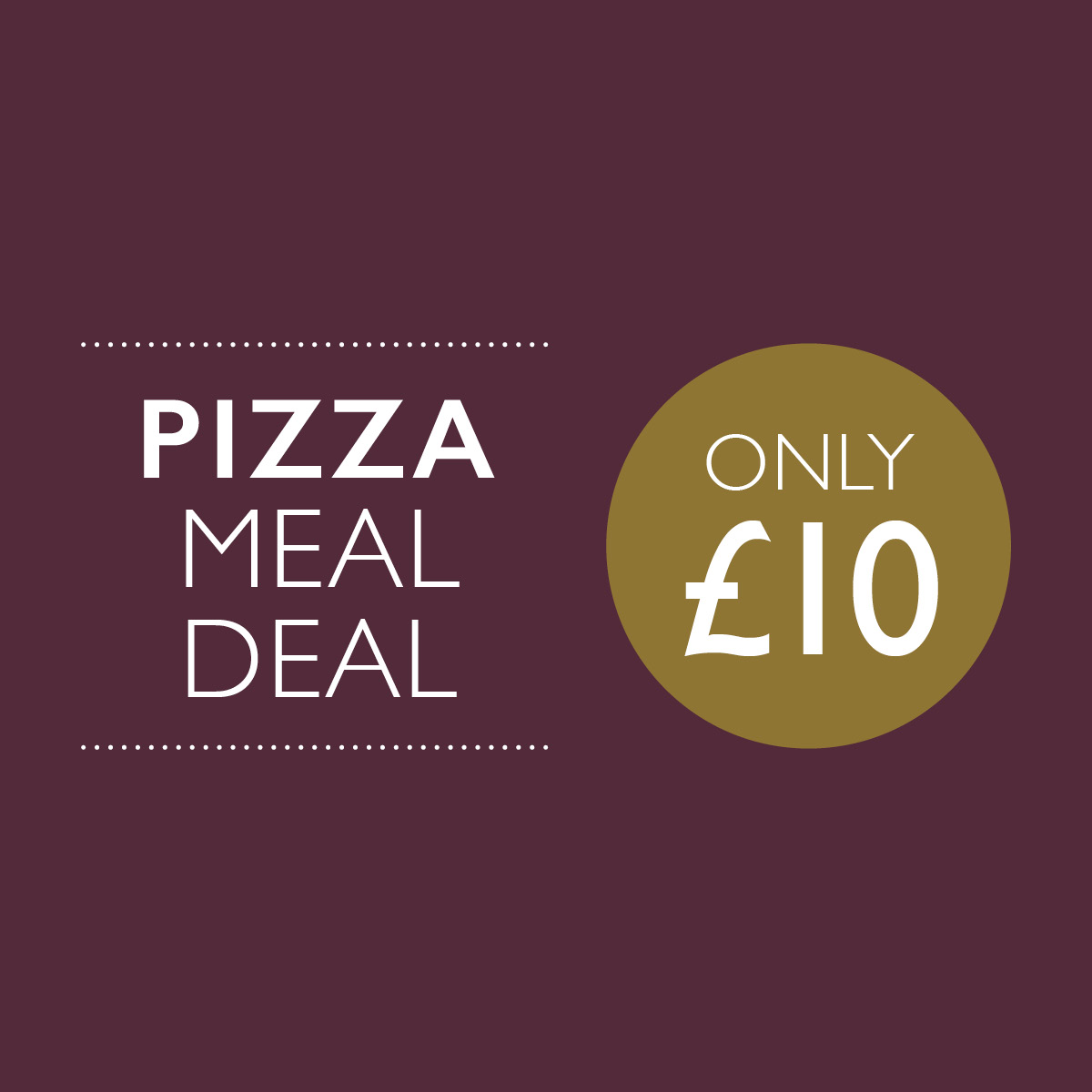 Pizza Meal Deal