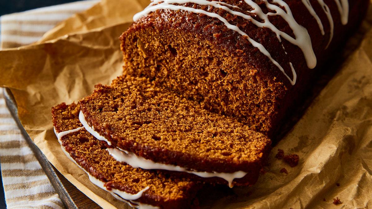 Sticky Autumn Spice Loaf