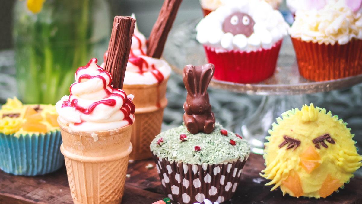 Natural cupcakes