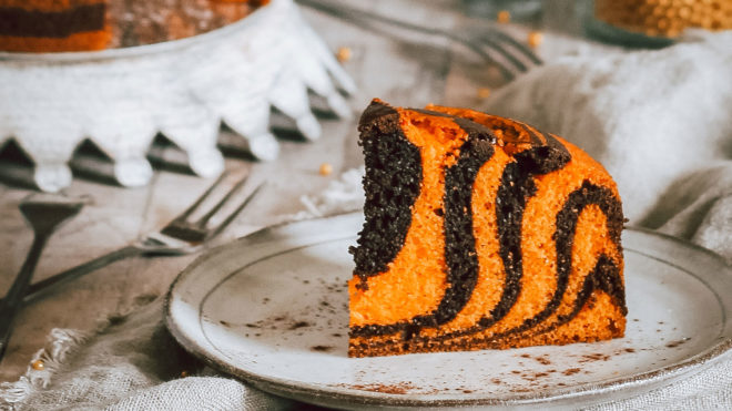 The Boho Baker S Tiger Tea Cake Recipe Booths